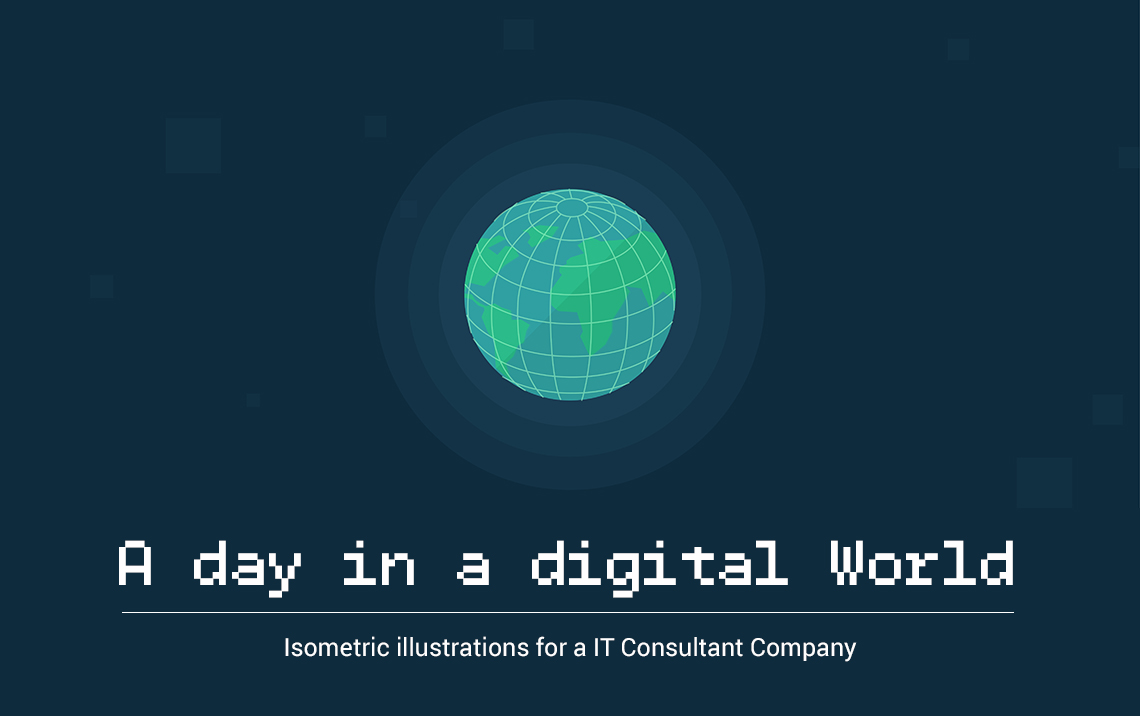 A day in a digital world