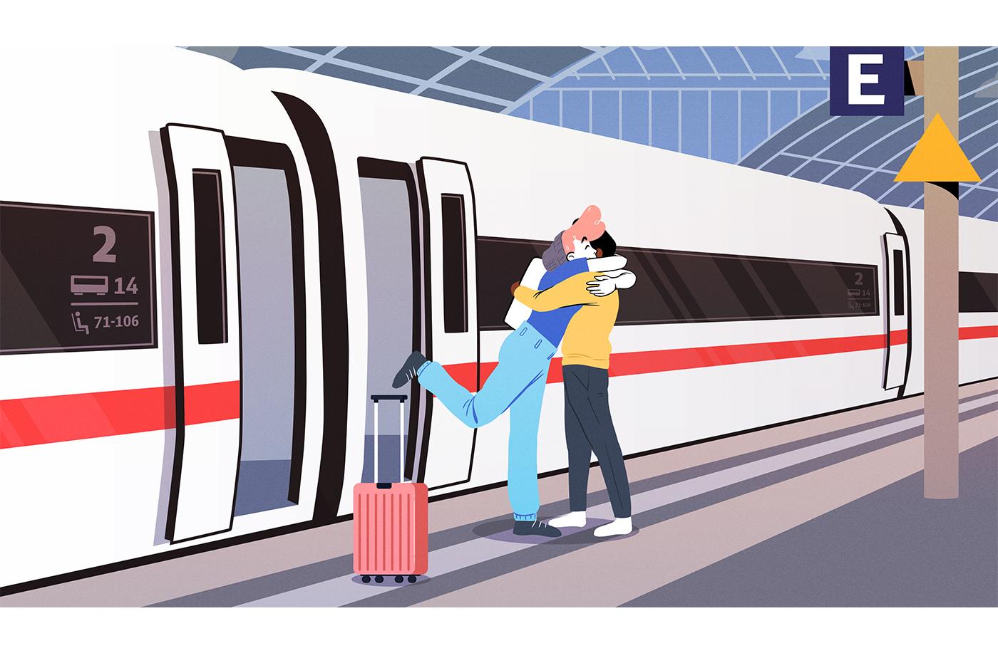 Deutsche Bahn meets Google Maps